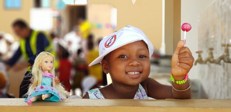 Share your happy moments with needy children